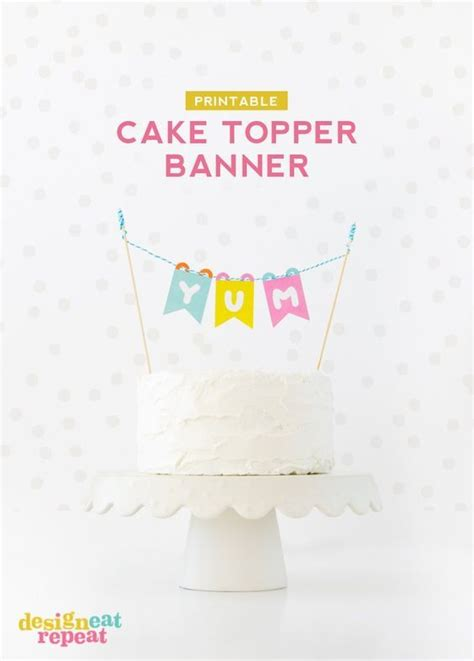 printable birthday cake banner 456 best images about straw flags on pinterest mini