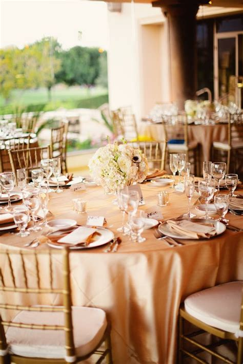 Wedding Linens by Gold Wedding Linens