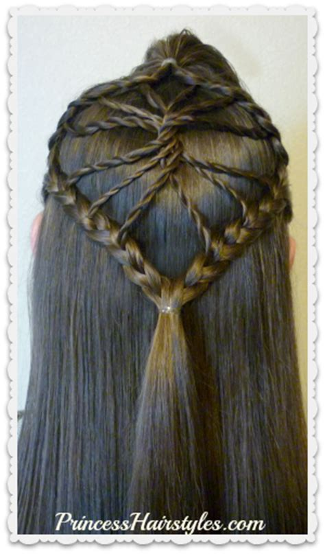 princess hairstyles braided headband with jewels cute braided hairstyle the twisted wheel hair tutorial