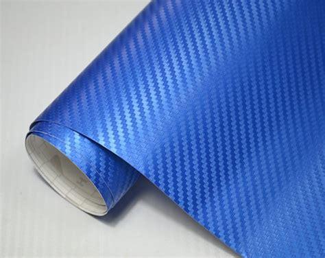 Auto Folie Blau Metallic Matt by Blasenfrei 3d Carbon Folie 30 X 152 Cm Blau Metallic Auto