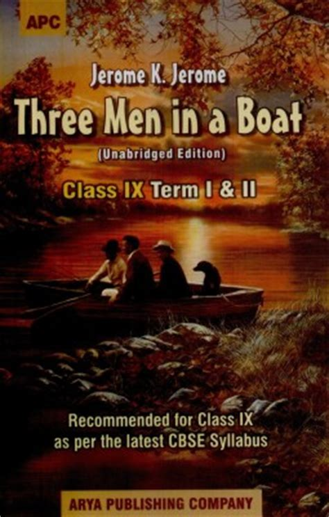 three in a boat books buy three in a boat for class ix term i ii 1st