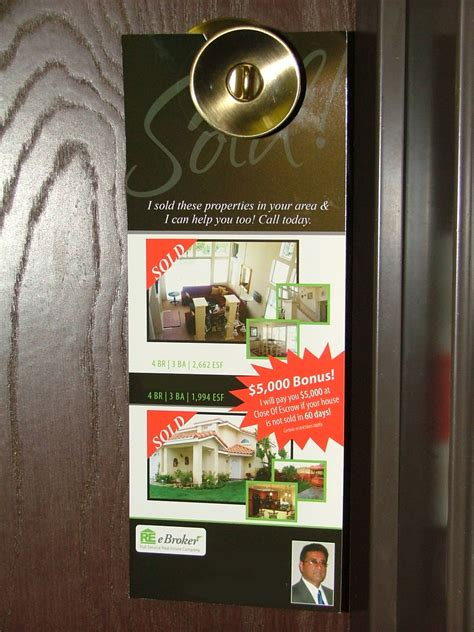 door hanger printing services american printing and mail