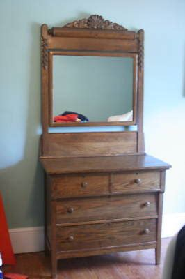 antique oak dresser with mirror antique price guide