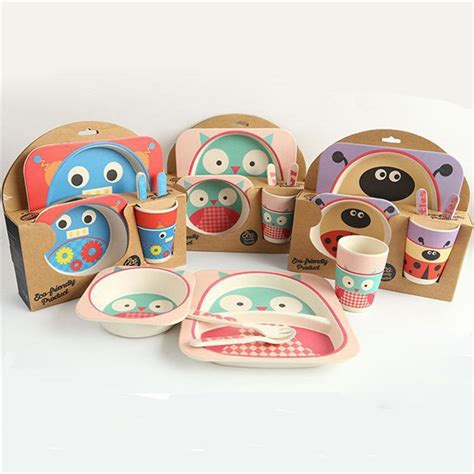 Sweety Set Kid popular bamboo plates buy cheap bamboo plates