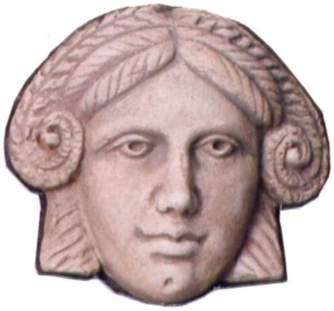 Spinx Mask sphinx mask etruscan terracottas museum pompeii