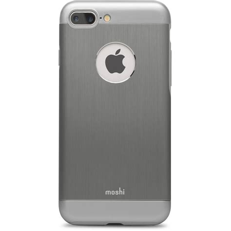 h iphone 7 plus moshi armour for iphone 7 plus gray 99mo090021 b h photo
