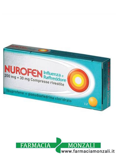 nurofen mal di testa nurofen influenza e raffreddore in offerta 12