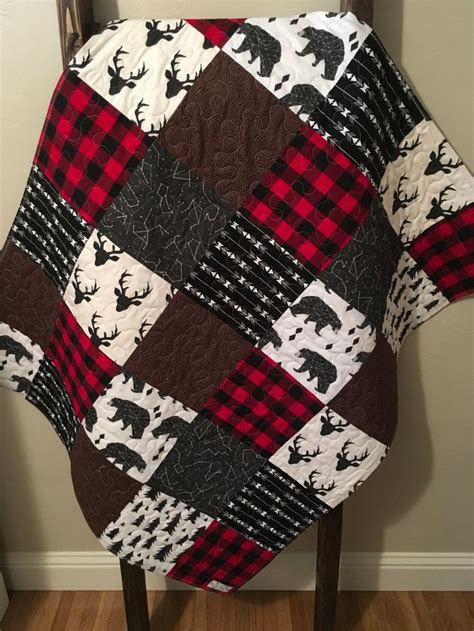 Plaid Boy Crib Bedding 1000 Ideas About Quilt On Pinterest Sweater Quilt Quilting And Quilt Patterns