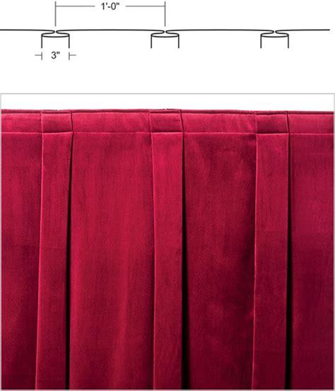 used theatre curtains curtain fullness