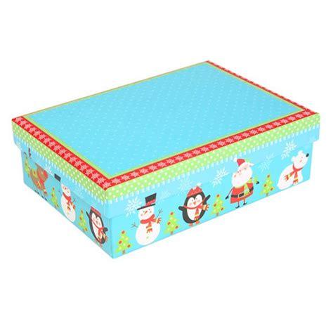 kid s blue christmas gift box from dunelm christmas gift