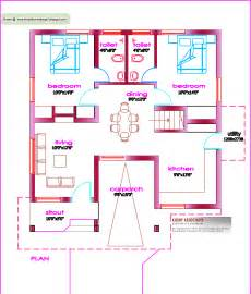 1000 Sq Ft House Plans Indian Style by Single Floor House Plan 1000 Sq Ft Kerala Home