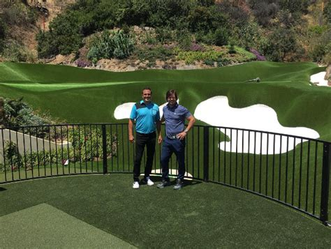 backyard golf drills mark wahlberg s backyard golf practice facility will fill you with jealously golf digest