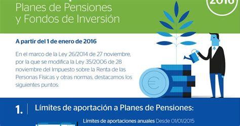 fiscalidad planes de pensiones ejercicio 2015 y 2016 creditos hipotecas fiscalidad para planes de pensiones y