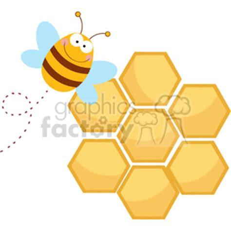queen bee  front  honeycomb clipart royalty  gif
