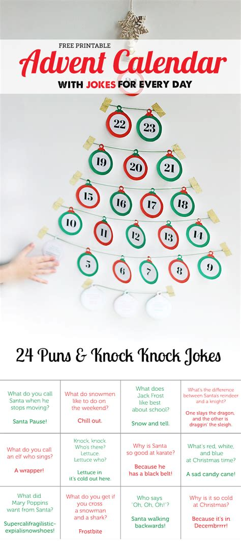Calendar Jokes 15 Diy Advent Calendars For Letters From Santa