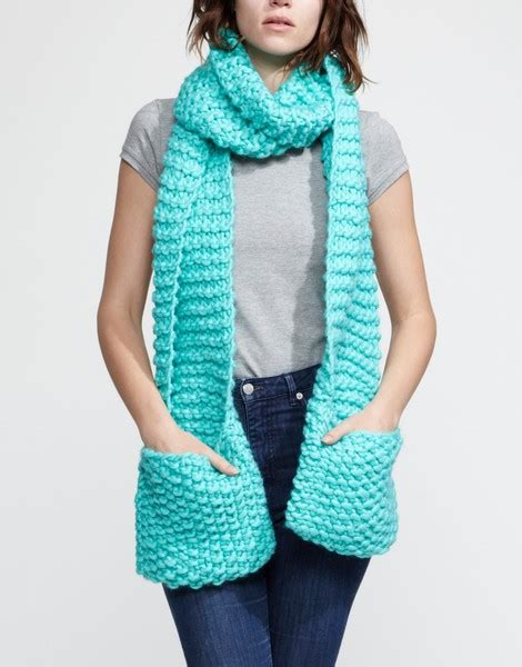 Square Basic Sally Scarf Dusty jolly pocket scarf knitting kit wool and the