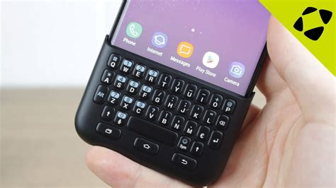 Samsung Galaxy S10 Keyboard by Official Samsung Galaxy S8 S8 Plus Keyboard Cover Review On
