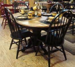 distressed black kitchen table dining room and kitchen rountree s furniture and decor