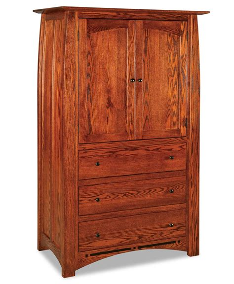3 drawer armoire boulder creek armoire 3 drawer 2 door amish direct furniture