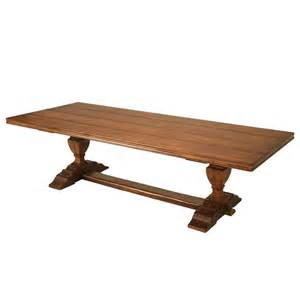 Dining Table Chicago Style Trestle Dining Table Made In Chicago By Plank For Sale At 1stdibs