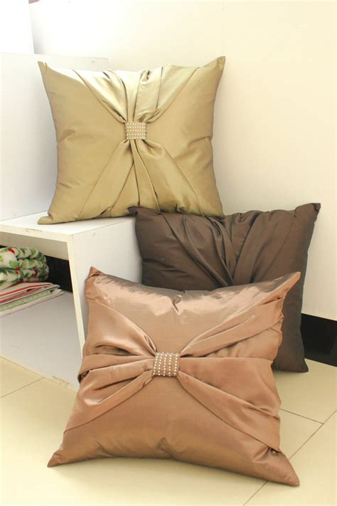 Cusion Covers by Suolanduo Free Shipping Bowknot Decorate Cushion Cover