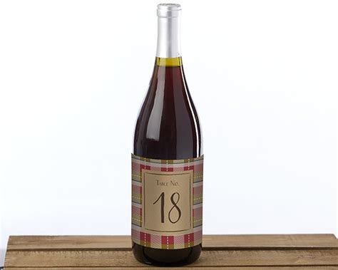 wine bottle table l fall wine label table numbers 1 20