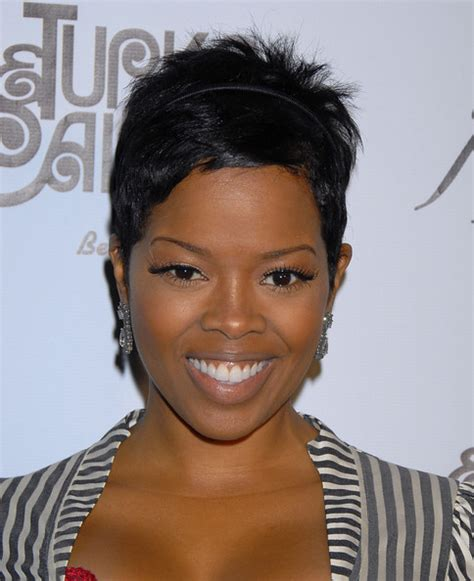 short hair styles worn by malinda williams malinda williams pictures photos 2nd annual sunflower