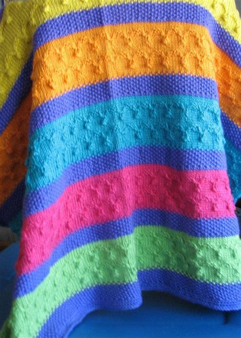 multi colored afghan knitting pattern 17 best images about blankets afghans knitted on