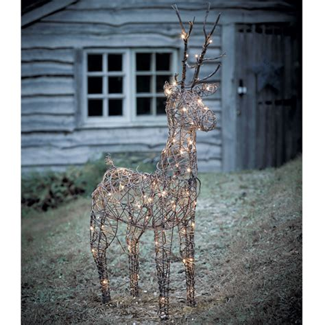 outdoor lighted deer family 7 stylish outdoor lighting ideas ideal home
