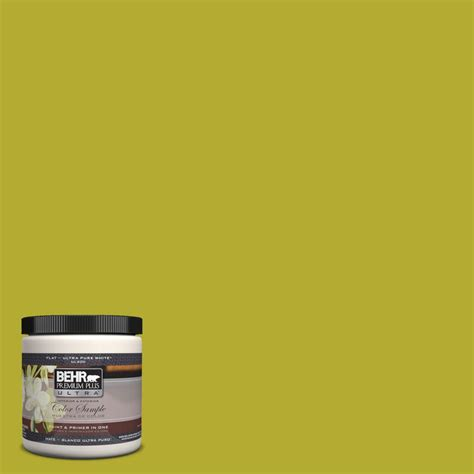 behr premium plus ultra 8 oz p340 6 green neon interior exterior paint sle ul20316 the