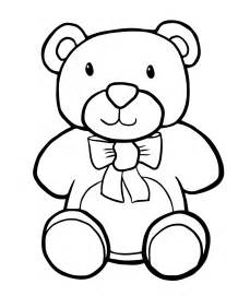 teddy coloring pages free printable teddy coloring pages for