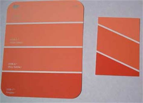 home depot paint sle cards with paint chips go make something