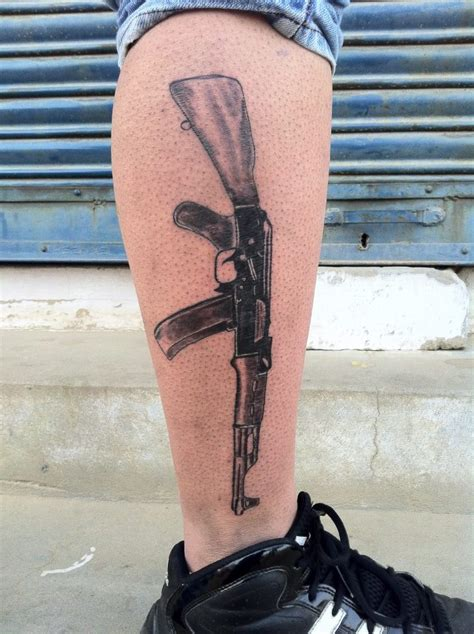 ak 47 tattoos designs ideas and meaning tattoos for you