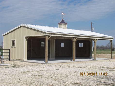 portable horse barns shedrow barns deer creek structures