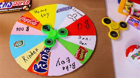How To Make A Spinning Wheel Out Of Paper - how to make a prize wheel cardboard diy prize wheel