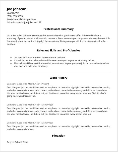 20 cv templates create your professional cv in 5 minutes