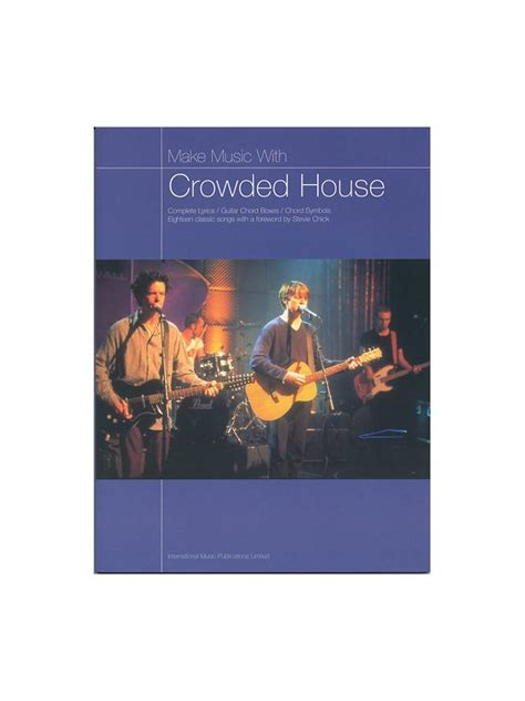 crowded house music crowded house sheet music books scores buy online