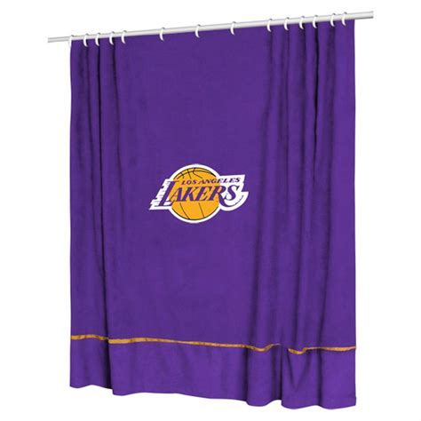 sports shower curtain sports coverage 174 nba sidelines shower curtain 218113