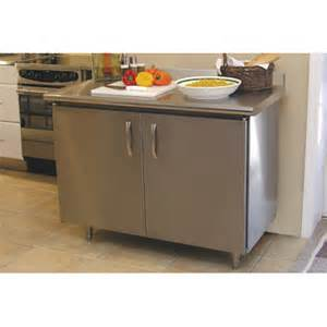 Stainless Top Kitchen Island A Line By Advance Tabco Wayfair