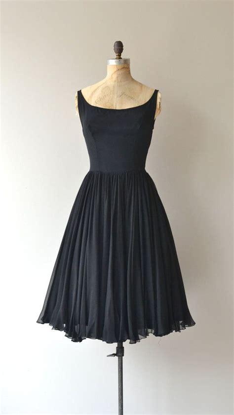 50 s cocktail dress vintage last ingenue dress vintage 1950s dress black 50s