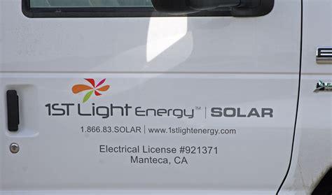 1st Light Energy by 1st Light Energy Truck Door Graphics Visual Horizons
