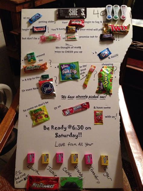 Search For By Birthday Bar Sayings Friends 40th Birthday Crafts