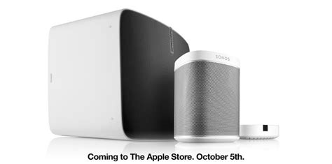 Apple Music Gift Card Free - sonos speakers launch at apple stores today with free apple music gift card offer