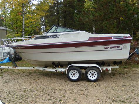 cabin sea boats seasprite cuddy cabin 228 boat for sale from usa