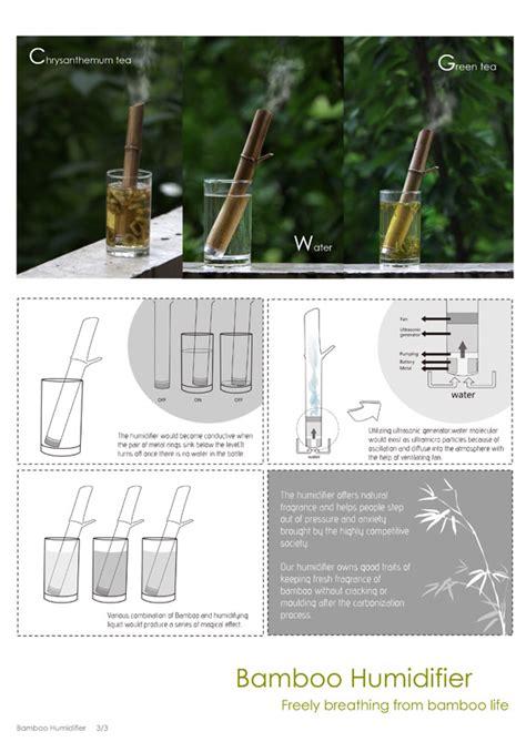 designboom bamboo bamboo humidifier designboom com