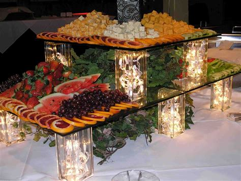 how to set up a gorgeous buffet table for your