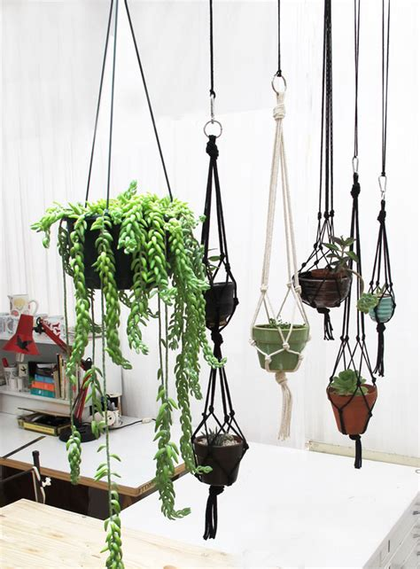 Hanging Plant Holders Macrame - 18 diy macram 233 plant hanger patterns guide patterns