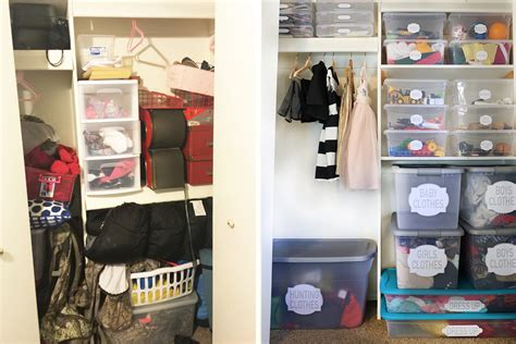 10 organized closet before afters 10 organized closet before afters