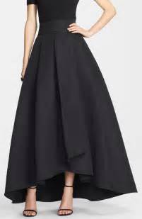 st collection duchesse origami pleat maxi skirt