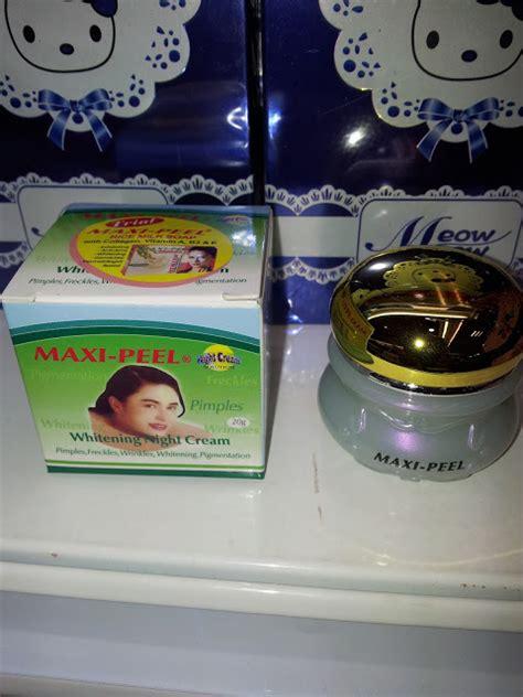 Kanza Maxi Hitam Bintik Putih maxi peel whitening harga murah giler set